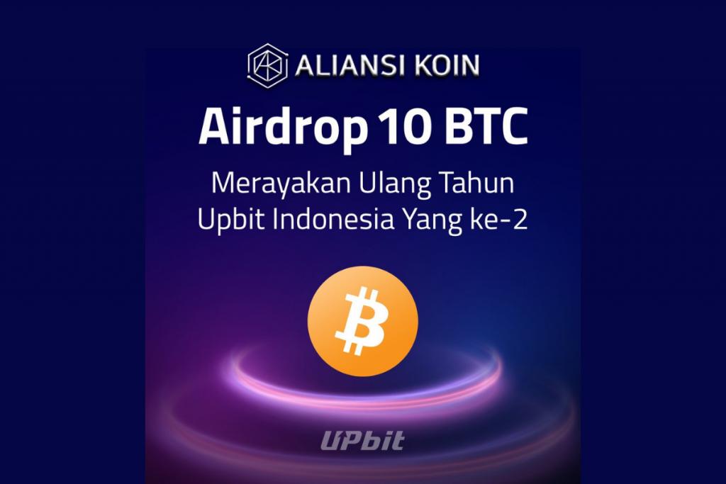 Airdrop 2 BTC