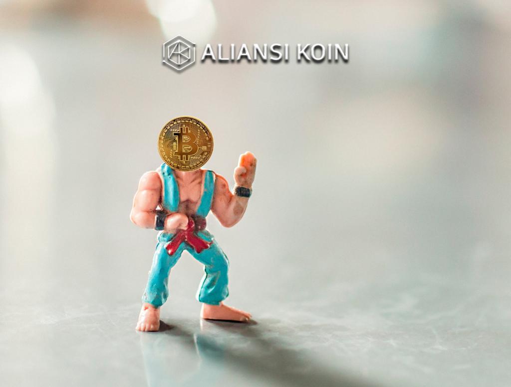 Bitcoin tidak turun
