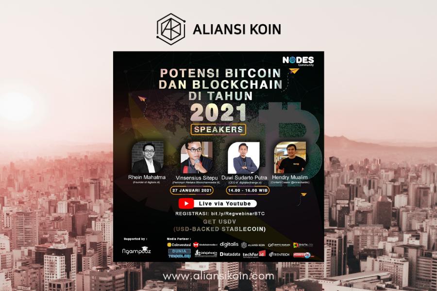 Webinar Potensi Bitcoin
