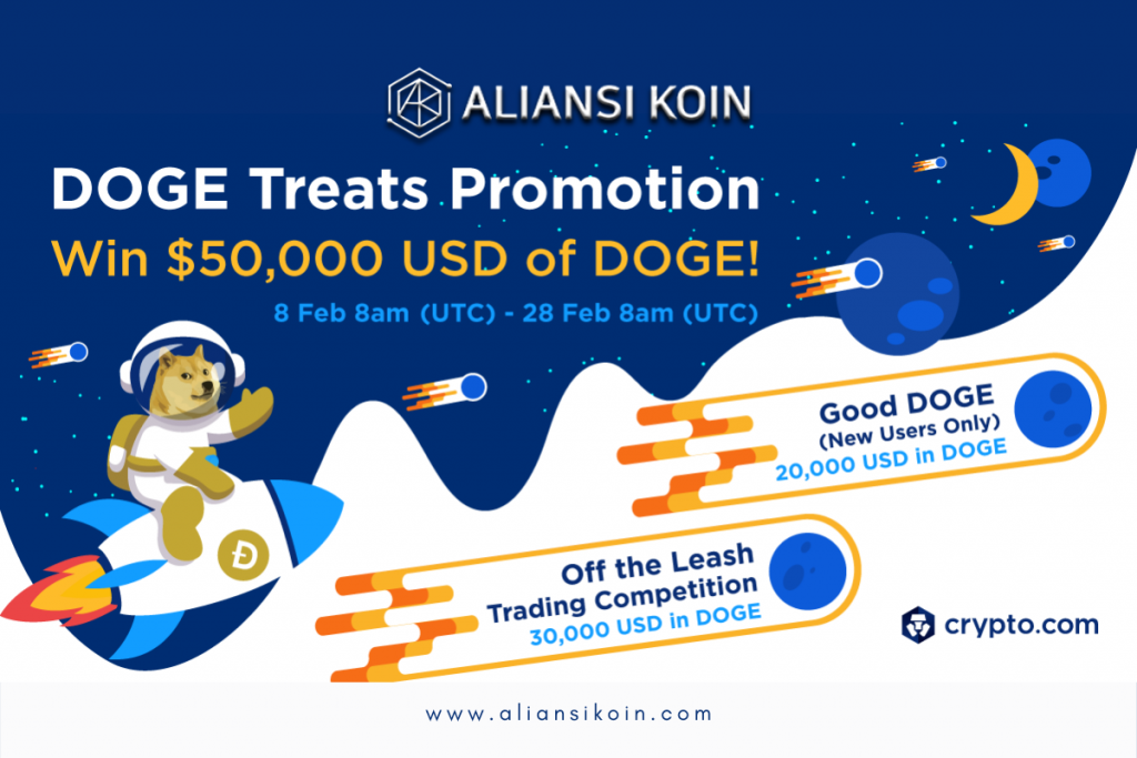 DOGE Treats Promotion