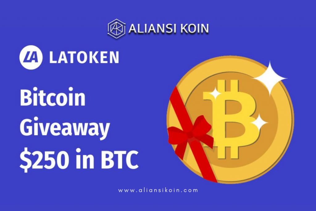 Latoken Bitcoin Giveaway