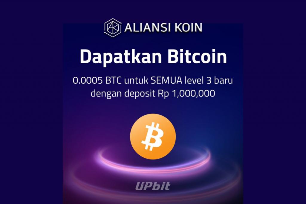 Airdrop Bitcoin dari Upbit